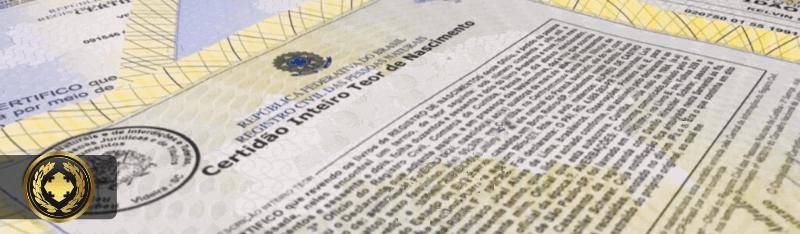 Certidão de Nascimento Inteiro Teor pela Internet